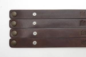 Kožený náramek - Bojovník (240 mm)