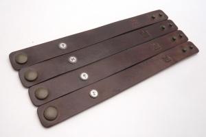 Kožený náramek - Odhodlání (220 mm)